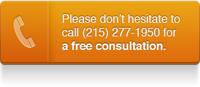 Please don't hesitate to call (215) 277-1950 for a free consultation.